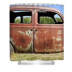 Shower Curtain featuring the photograph Final Destination by Fran Riley
