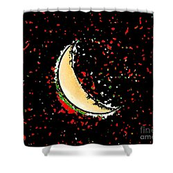 Final Frontier Fiesta Shower Curtain by Al Powell Photography USA