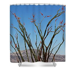 Fingers To The Sky Shower Curtain
