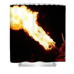 Fire Axe Shower Curtain