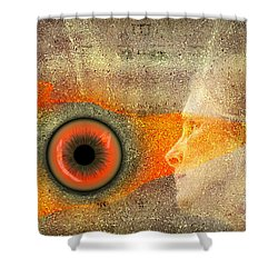 Fire Look Shower Curtain