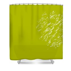 Firework Abstract Lv Shower Curtain by Michelle Calkins
