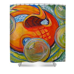 Fish Fun Shower Curtain by Jeanette Jarmon