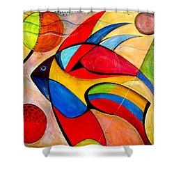 Fish IIi Shower Curtain