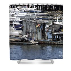 Fish Shack Shower Curtain