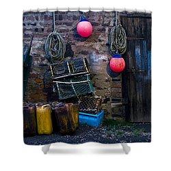 Fishermans Supplies Shower Curtain by John Short