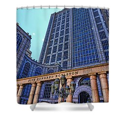 Five Hundred Boylston - Boston Architecture Shower Curtain