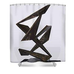 Flamenco Shower Curtain by John Neumann