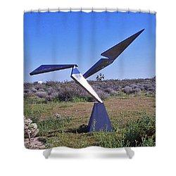 Flight  Shower Curtain by John Neumann