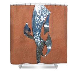 Flight Of Daphne Shower Curtain by John Neumann