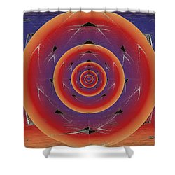 Flight Of The Firefly Shower Curtain