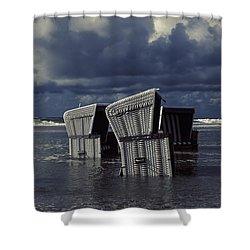 Flood Shower Curtain by Joana Kruse