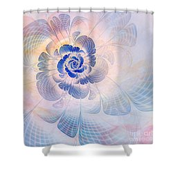 Floral Impression Shower Curtain by John Edwards