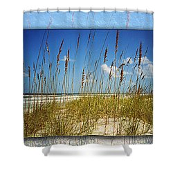 Perfect Day At A Florida Beach Shower Curtain
