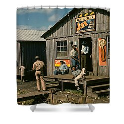 Florida: Workers, 1941 Shower Curtain by Granger