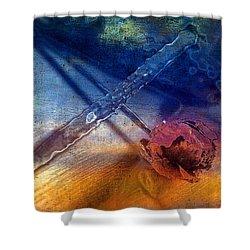 Flower 2 Shower Curtain by Mauro Celotti