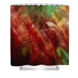 Flowers In The Wind 2 Shower Curtain by Skip Nall