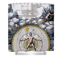 Fludd: Title-page, 1617 Shower Curtain by Granger