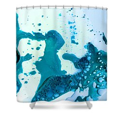 Fluidism Aspect 468 Photography Shower Curtain by Robert Kernodle