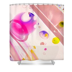 Fluidism Aspect 561 Photography Shower Curtain