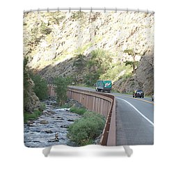 Fly Fishing In Colorado Shower Curtain