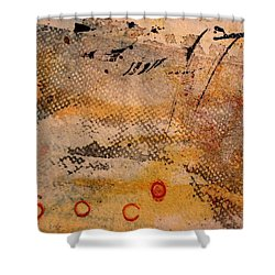 Flying Crane Shower Curtain