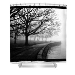 Foggy Day H-1 Shower Curtain by Mauro Celotti