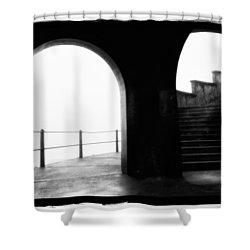 Foggy Day H-1b Shower Curtain by Mauro Celotti