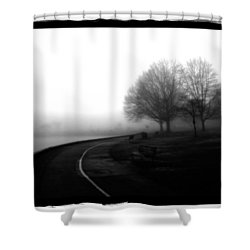 Foggy Day H-3 Shower Curtain by Mauro Celotti