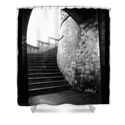 Foggy Day V-1 Shower Curtain by Mauro Celotti