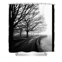 Foggy Day V-5 Shower Curtain by Mauro Celotti