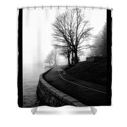 Foggy Day V-6 Shower Curtain by Mauro Celotti