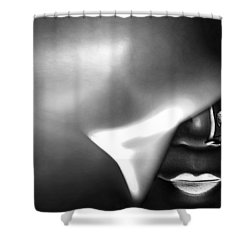 Shower Curtain featuring the digital art Follow Your Heart by Holly Ethan