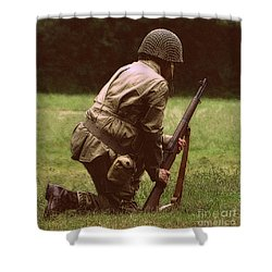 Shower Curtain featuring the photograph For Freedom by Lydia Holly