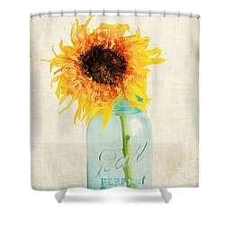 For My Friend Shower Curtain by Darren Fisher