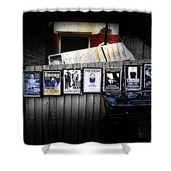 For Your Pleasure Shower Curtain by Charles Stuart