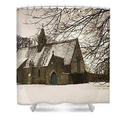 Ford, Northumberland, England Country Shower Curtain by John Short