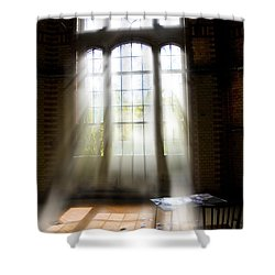 Forgotten Game Shower Curtain by Nathan Wright