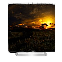 Forgotten Homestead... Shower Curtain
