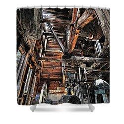 Forgotten Mill Shower Curtain