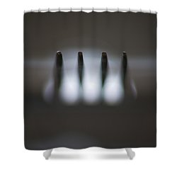 Fork Shower Curtain by Stelios Kleanthous