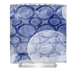 Formed In Winter Shower Curtain by Angelina Vick