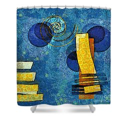 Formes - 09g Shower Curtain by Variance Collections