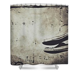 Foster The Kicks Shower Curtain by Empty Wall