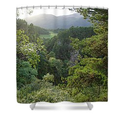 Foyers Valley Shower Curtain
