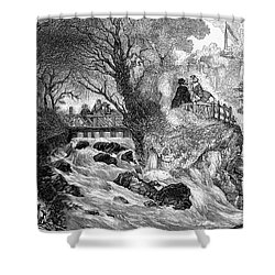 France: Divonne, 1856 Shower Curtain by Granger