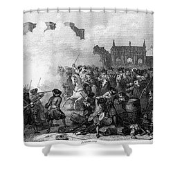 France: Fronde Battle, 1652 Shower Curtain by Granger