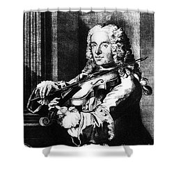 Francesco Maria Veracini Shower Curtain by Granger