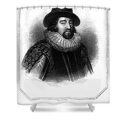 Francis Bacon (1561-1626) Shower Curtain by Granger