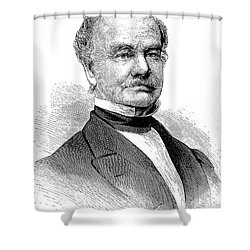 Francis Elias Spinner Shower Curtain by Granger